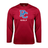 Syntrel Performance Cardinal Longsleeve Shirt-Golf