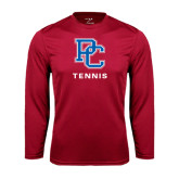 Syntrel Performance Cardinal Longsleeve Shirt-Tennis