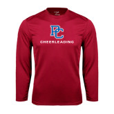 Syntrel Performance Cardinal Longsleeve Shirt-Cheerleading
