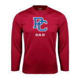 Syntrel Performance Cardinal Longsleeve Shirt-Dad