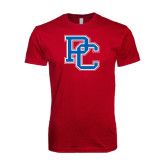 Next Level SoftStyle Cardinal T Shirt-PC