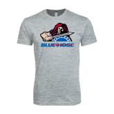 Next Level SoftStyle Heather Grey T Shirt-Mascot