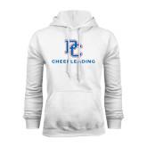 White Fleece Hood-Cheerleading