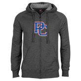 Charcoal Fleece Full Zip Hood-PC