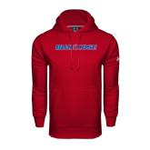 Under Armour Cardinal Performance Sweats Team Hood-Blue Hose