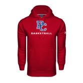 Under Armour Cardinal Performance Sweats Team Hood-Basketball