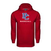 Under Armour Cardinal Performance Sweats Team Hood-Baseball