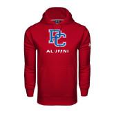 Under Armour Cardinal Performance Sweats Team Hood-Alumni