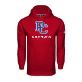 Under Armour Cardinal Performance Sweats Team Hood-Grandpa