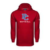 Under Armour Cardinal Performance Sweats Team Hood-Softball
