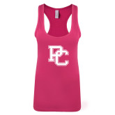 College Next Level Ladies Raspberry Ideal Racerback Tank-PC