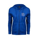 ENZA Ladies Royal Fleece Full Zip Hoodie-PC