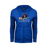 ENZA Ladies Royal Fleece Full Zip Hoodie-Mascot