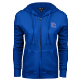 ENZA Ladies Royal Fleece Full Zip Hoodie-PC