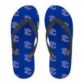 College Full Color Flip Flops-PC