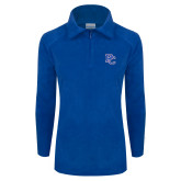 Columbia Ladies Half Zip Royal Fleece Jacket-PC