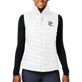 College Columbia Lake 22 Ladies White Vest-PC