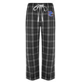 Black/Grey Flannel Pajama Pant-PC