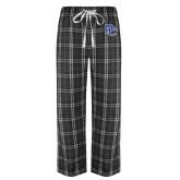 Black/Grey Flannel Pajama Pant-PC