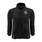 Fleece Full Zip Black Jacket-PC
