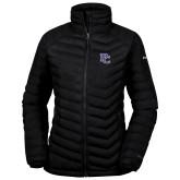 College Columbia Lake 22 Ladies Black Jacket-PC