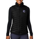 College Columbia Lake 22 Ladies Black Vest-PC
