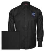 College Red House Black Herringbone Long Sleeve Shirt-PC