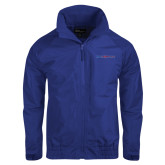 College Royal Charger Jacket-Blue Hose