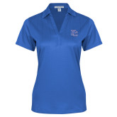 College Ladies Royal Performance Fine Jacquard Polo-PC