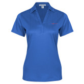 College Ladies Royal Performance Fine Jacquard Polo-Blue Hose
