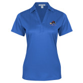 College Ladies Royal Performance Fine Jacquard Polo-Mascot