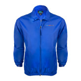 Royal Wind Jacket-Blue Hose