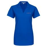 Ladies Royal Dry Zone Grid Polo-Blue Hose