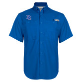 Columbia Bonehead Royal Short Sleeve Shirt-PC