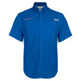 Columbia Bonehead Royal Short Sleeve Shirt-Blue Hose