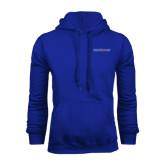Royal Fleece Hood-Blue Hose