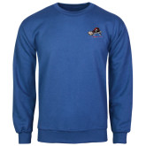 College Royal Fleece Crew-Mascot