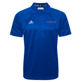 Adidas Climalite Royal Jacquard Select Polo-Blue Hose