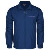 Full Zip Royal Wind Jacket-Blue Hose