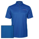 College Royal Performance Fine Jacquard Polo-Blue Hose