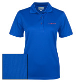 College Ladies Royal Dry Mesh Polo-Blue Hose