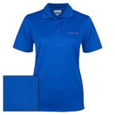 Ladies Royal Dry Mesh Polo-Blue Hose