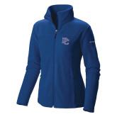 Presbyterian Columbia Ladies Full Zip Royal Fleece Jacket-PC