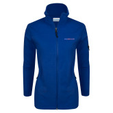 Columbia Ladies Full Zip Royal Fleece Jacket-Blue Hose