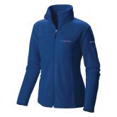 Presbyterian Columbia Ladies Full Zip Royal Fleece Jacket-Blue Hose