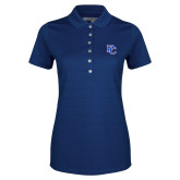 College Ladies Callaway Opti Vent Sapphire Blue Polo-PC