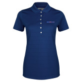 College Ladies Callaway Opti Vent Sapphire Blue Polo-Blue Hose