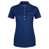 College Ladies Callaway Opti Vent Sapphire Blue Polo-Blue Hose
