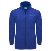 Columbia Full Zip Royal Fleece Jacket-Blue Hose