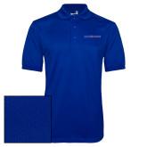 Royal Dry Mesh Polo-Blue Hose